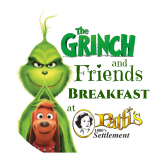 Breakfast with the Grinch, his special guest SANTA and friends!